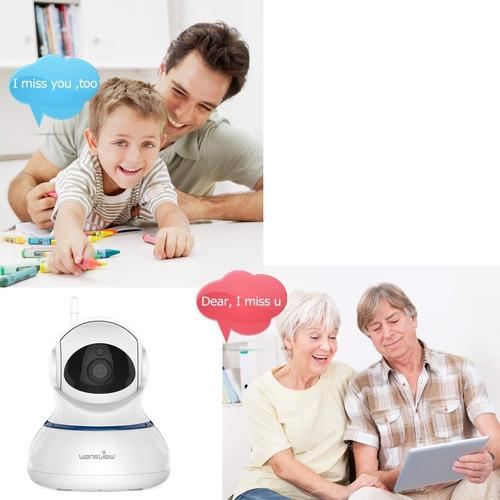 cámara inalámbrica ip 1080 con wifi dos canales de audio