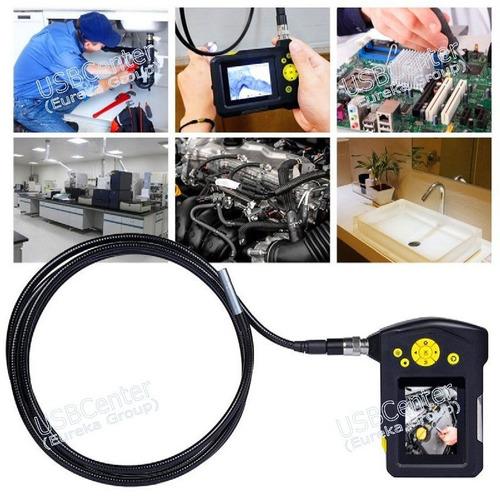camara inspeccion boroscopio lcd endoscopio sonda 8.2mm x 1m