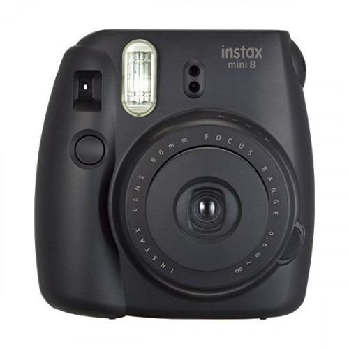 camara instantanea, fujifilm instax mini 8, color negro