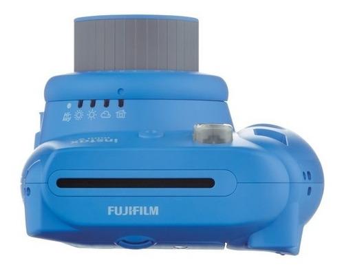 cámara instantánea fujifilm instax mini 9 azul cobalt(12825)