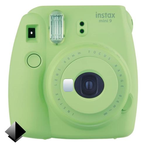 cámara instantánea fujifilm instax mini 9 + rollo 20 fotos
