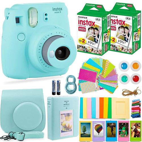 cámara instantánea fujifilm instax mini 9 y accesorios