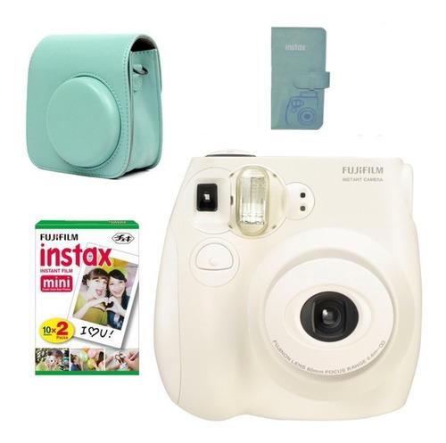 cámara instantánea instax mini 7s fujifilm + accesorios amv