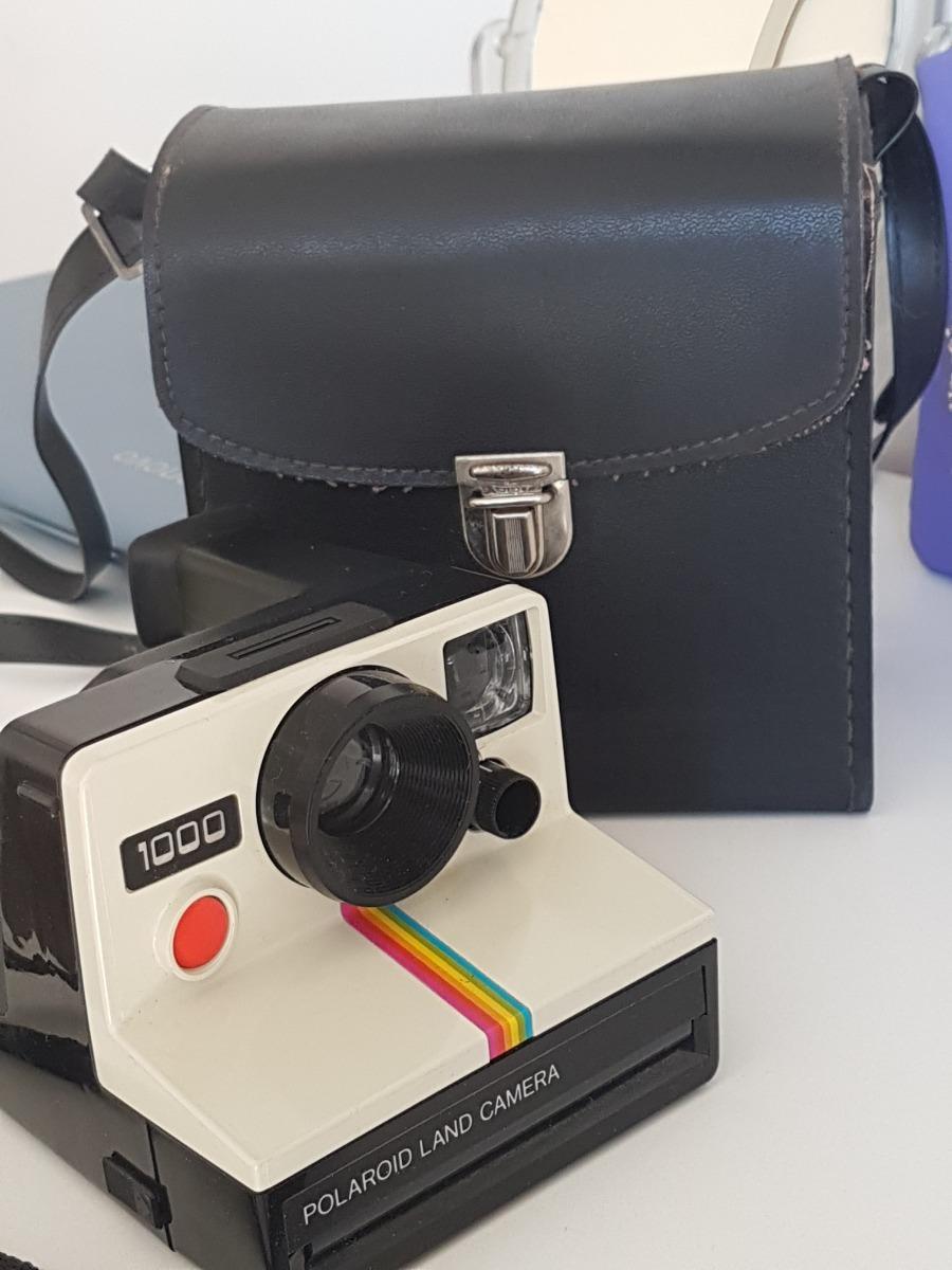 b37e24c39b31b Polaroid Land 1000 Cámara Fotográfica Instantánea Estuche -   1.800 ...