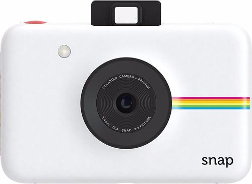 cámara instantánea polaroid snap + 20 hojas entrega 12 dias