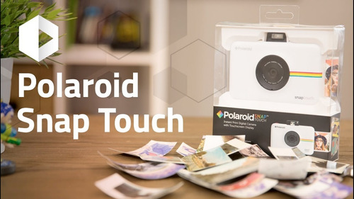 camara instantánea polaroid snap touch, fujifilm
