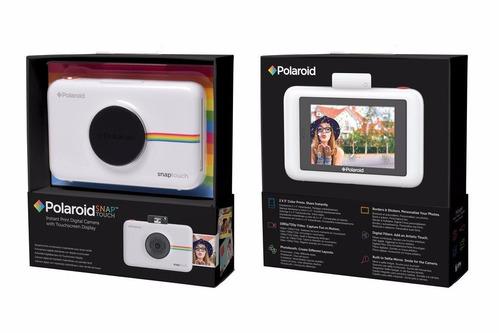 camara instantanea polaroid snap touch lcd andr ios blanco
