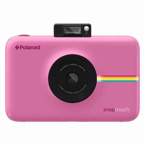 cámara instantánea polaroid snap touch pink - dist. aut.