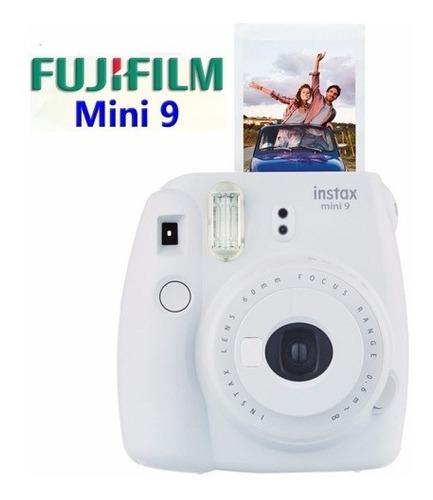 cámara instax 9 fujifilm blanca