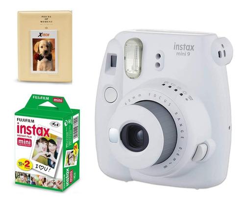 camara instax fuji mini 9 + cartucho de 20 fotos y album!