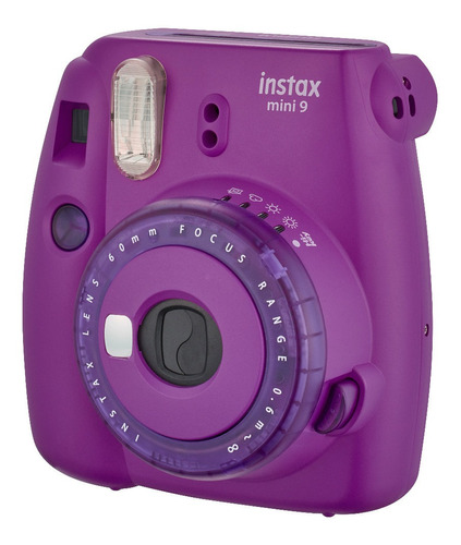 cámara instax mini 9 clear purple