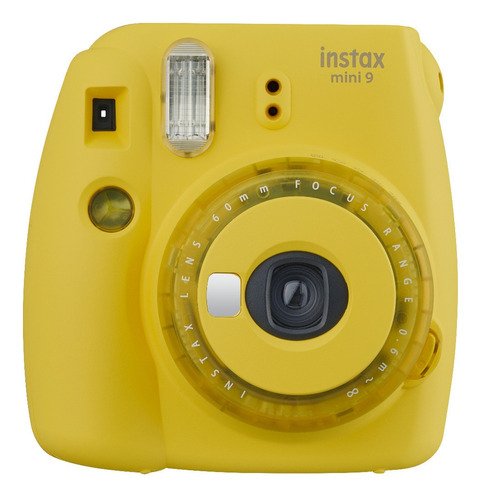 cámara instax mini 9 clear yellow