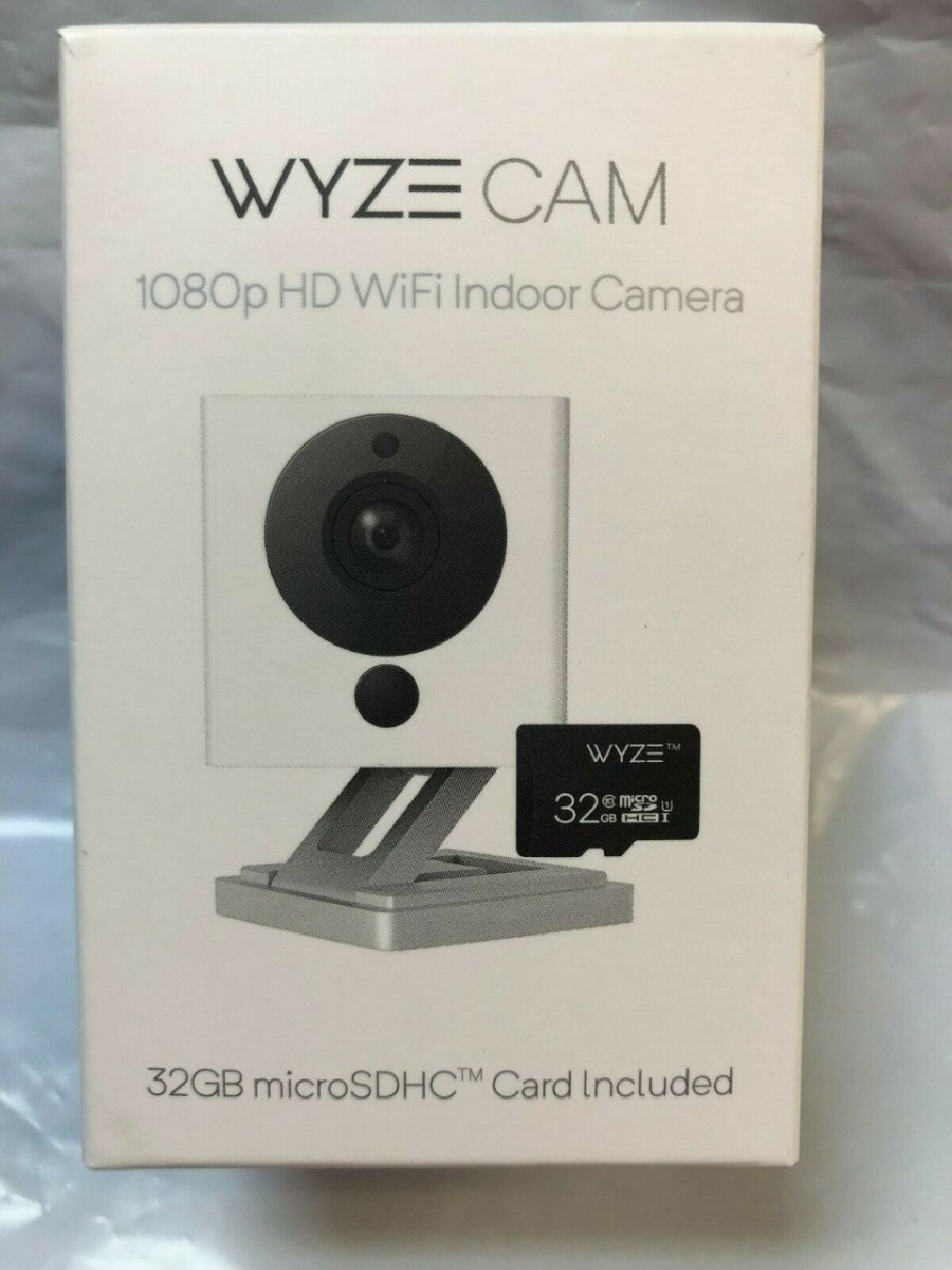 Camara Inteligente Wyze Cam V2 1080 Hd Interior Incluye Micro Sd 32gb