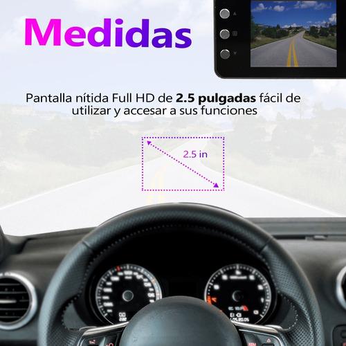cámara interna para auto dvr 1080 hd detección de movimiento
