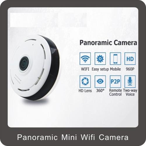 camara ip 360 grados 3d panoramica hd vigilancia wifi