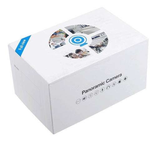 camara ip 360 tipo foco  wifi + iluminación vision panoramic