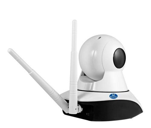 camara ip 360 wifi ethernet microfono y bocina, app v380