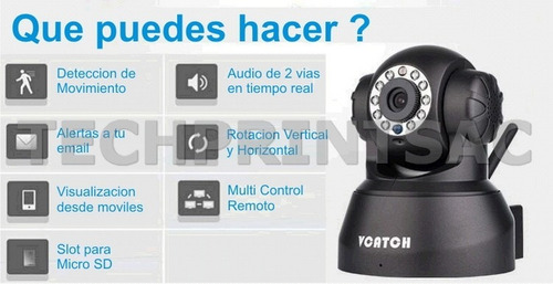 camara ip autoconfig 480p seguridad inalambrica interne wifi