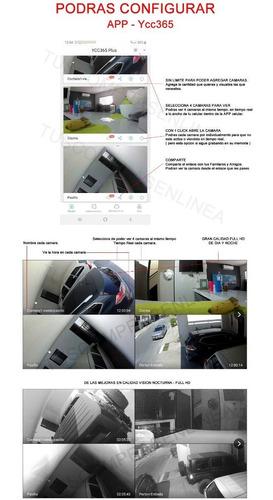 camara ip autoseguimiento 360 exterior contra agua 1080 domo