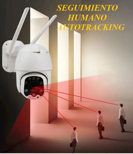 camara ip autoseguimiento 360 exterior contra agua 1080 wifi