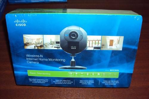 cámara ip de vigilancia cisco linksys wvc80n wireless n wifi