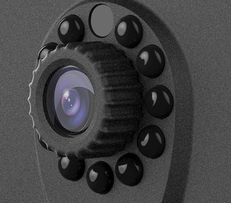 camara ip de vigilancia nexxt xpy1200 wifi dia/noche 720p