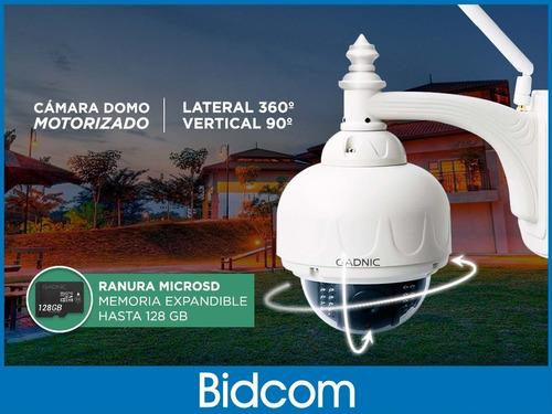 cámara ip exterior domo motorizado p2p wifi infrarroja hd