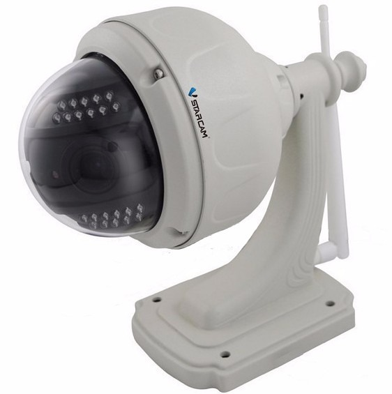 Camara ip exterior hd 720p 1mp onvif p2p wifi ir vstarcam for Camara ip exterior