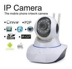 cámara ip full hd robotica wifi vigila celular alarma audio