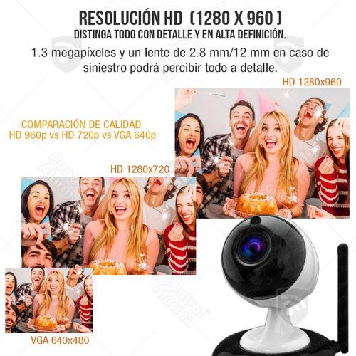 camara ip hd 1.3mp zoom 3x wifi seguridad ptz dvr 128 gb
