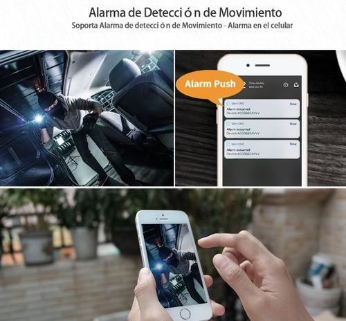 cámara ip hd 2mp domo wifi - visión nocturna - audio 2 vías