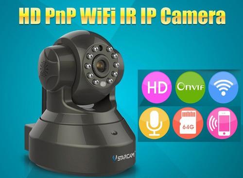 cámara ip hd inalambrica wifi, altavoz,microfono