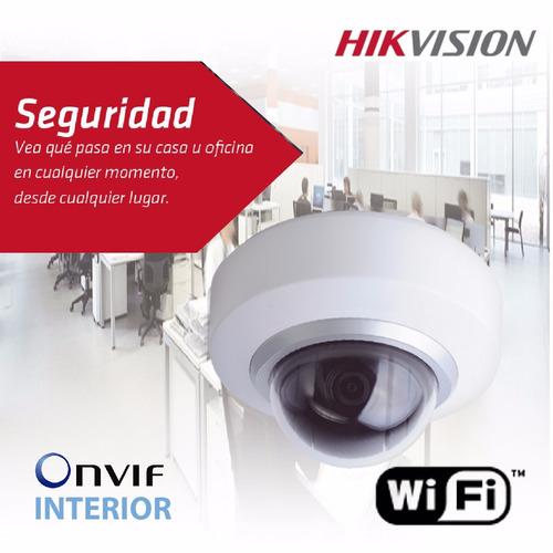 camara ip hikvision domo ptz interior 1mp wifi ds-2cd2102de