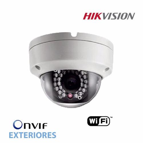 camara ip hikvision mini domo wifiexterior ds-2cd2120fiw poe