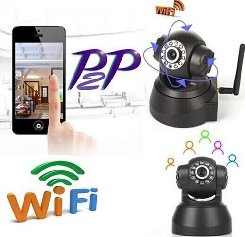 camara ip inalambrica 1 megapixel p2p robótica wifi
