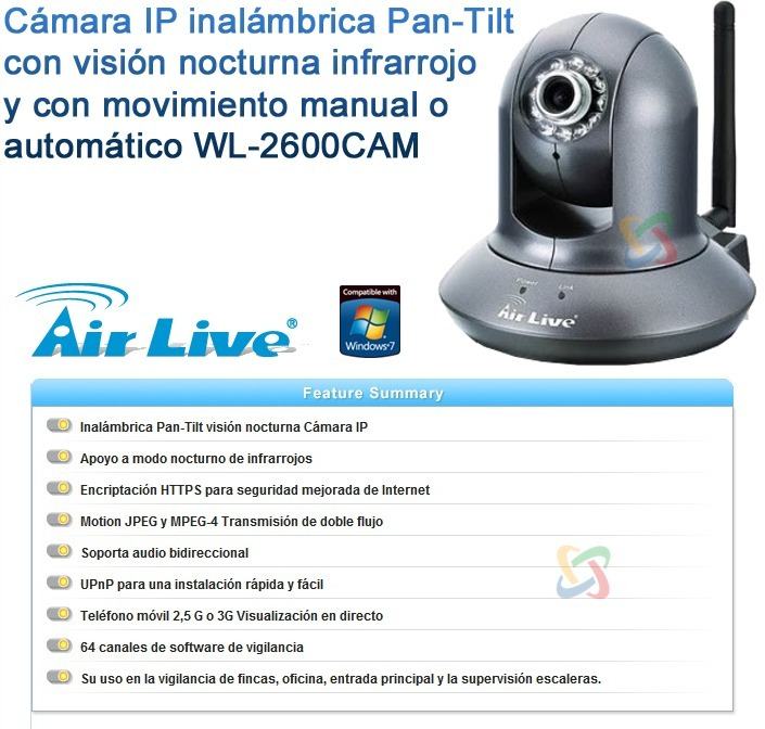AirLive WL-2600 CAM Drivers (2019)