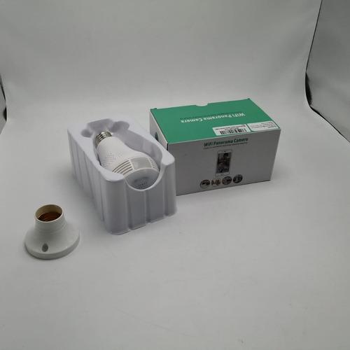 cámara ip inalámbrica wi-fi 360º tipo bombillo