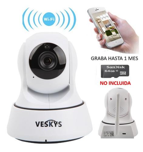 cámara ip inalambrica wifi robotica hd , envio gratis