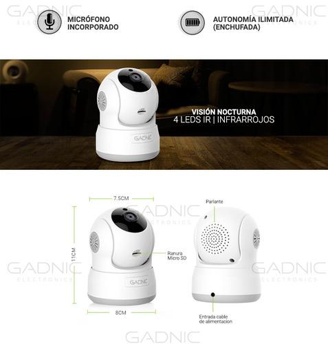 camara ip p2p robotizada inalambrica infrarroja nocturna