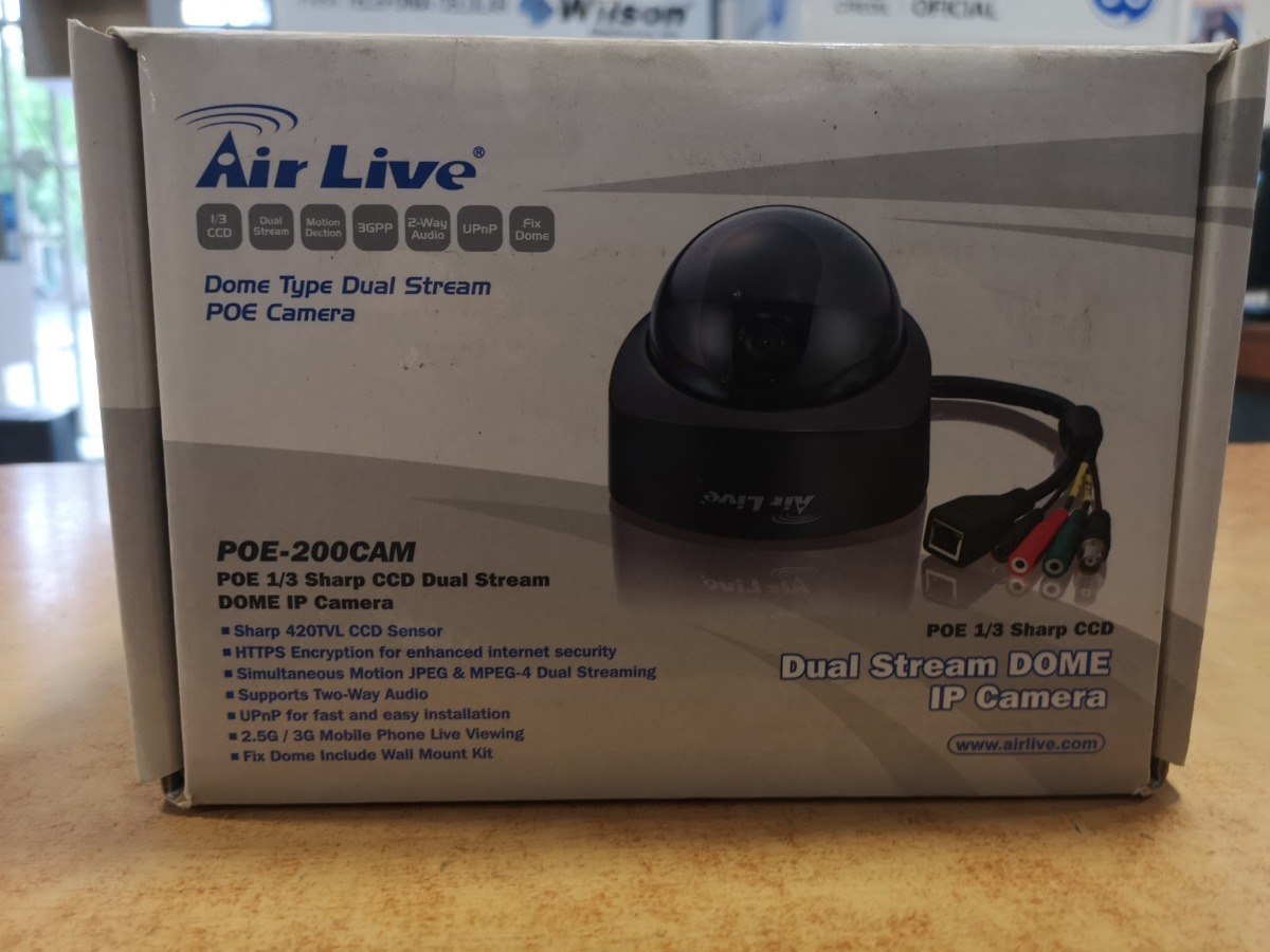 AirLive POE-200CAM Driver (2019)