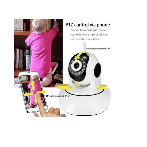 cámara ip robotic seguridad wifi visión nocturna yoosee