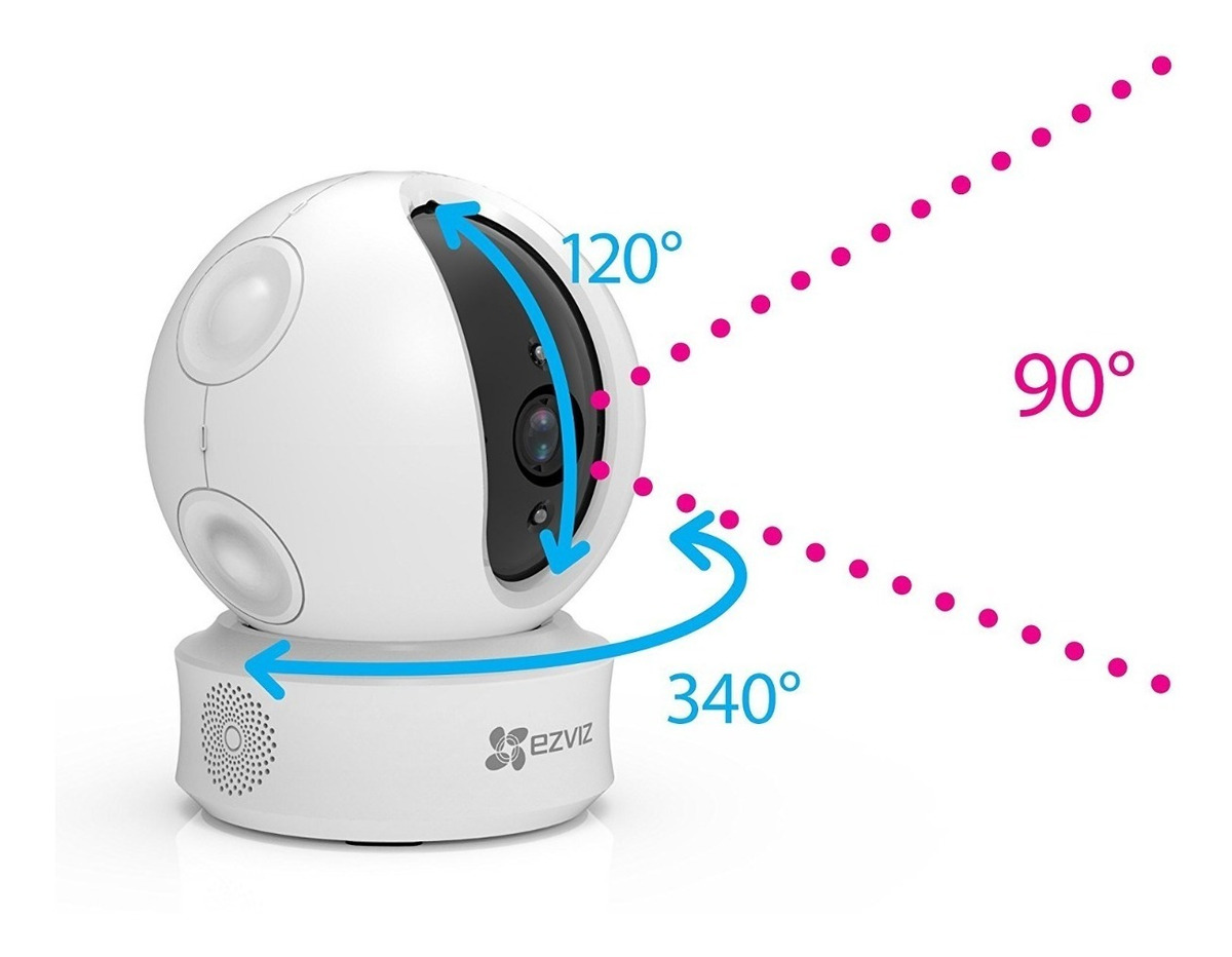 Cámara Ip Robótica Ezviz Ez360 360° Wifi By Hikvision