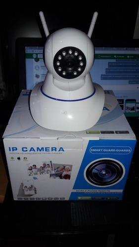 camara ip robotica wifi hd almarma y audio sensor movimiento