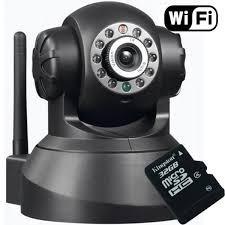cámara ip robótica wifi vigila en celular audio