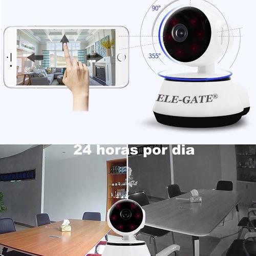 camara ip segurida wifi alarma app v380 español ele-gate