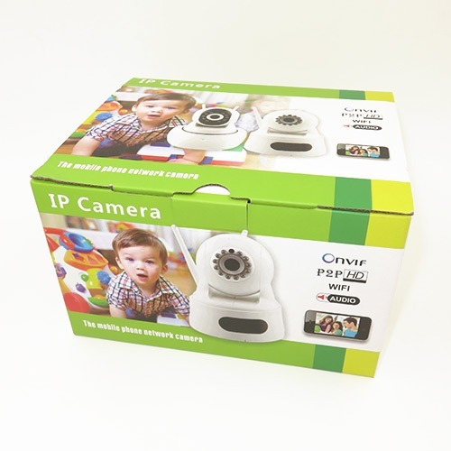 camara ip seguridad baby call hd wifi p2p motor audio onvif