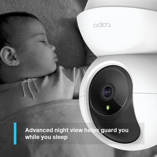 cámara ip seguridad home domo tp link tapo gira 360º msd 16g
