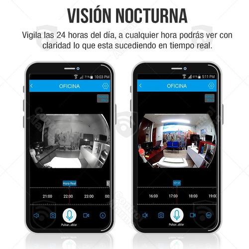 camara ip seguridad micro sd 3d wifi 360 casa dvr 128 gb