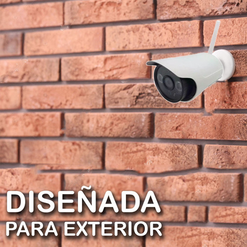 camara ip seguridad wifi inalambrica hd exterior robusta 720