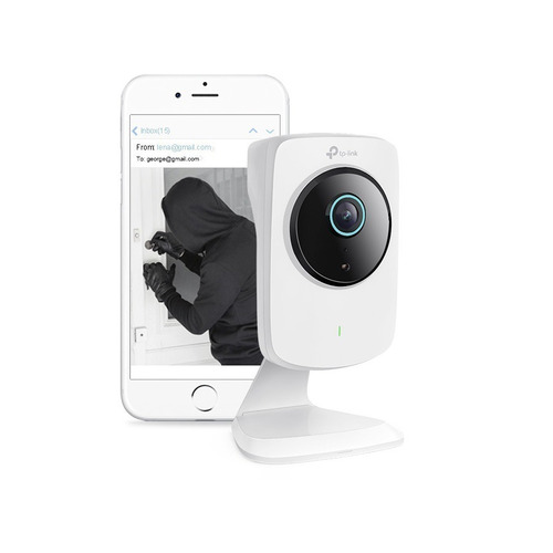camara ip tp link nc260 hd cloud nocturna wifi sd - smal lan